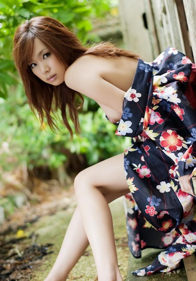 【和服エロ画像】日本の心はここにあり!和服姿の女の子たちのエロス! 17