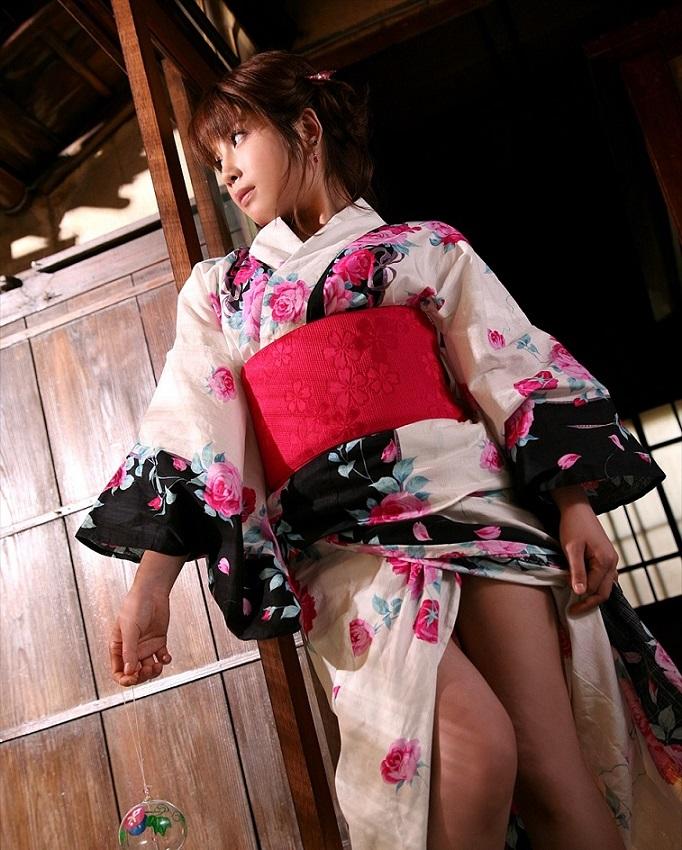 【和服エロ画像】日本の心はここにあり!和服姿の女の子たちのエロス! 18