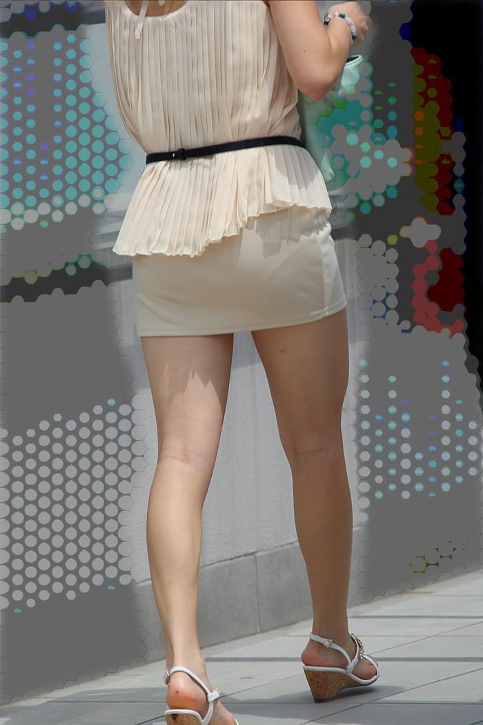 【美脚エロ画像】街中で目を引く美脚の女の子の画像集めたったwww 14