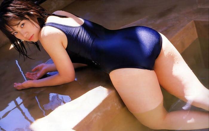 【スク水エロ画像】学校の水泳の授業で女子のスク水に欲情したことあるやつ必見な!w 01