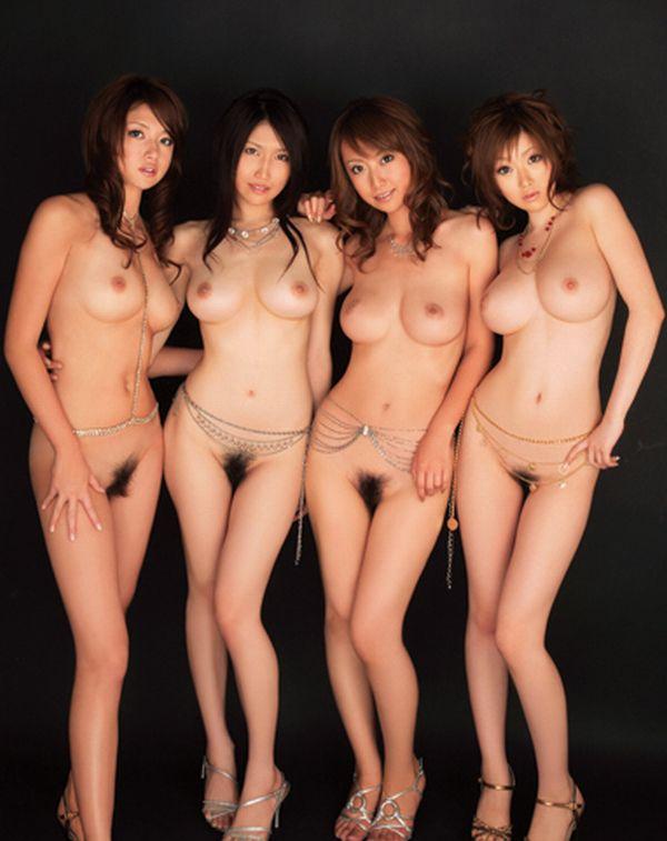 【複数ヌードエロ画像】好みは人それぞれって言うから裸の女の子並べてみた結果w 02