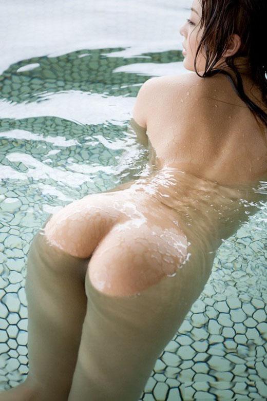【入浴エロ画像】女の子が全裸で入浴している姿にフル勃起不可避! 17