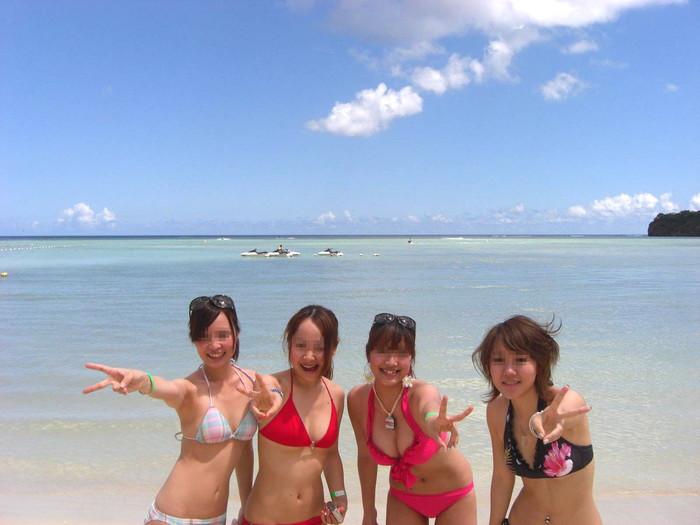 【素人水着エロ画像】生々しさがエロい!素人娘たちの水着画像集めたったww 01