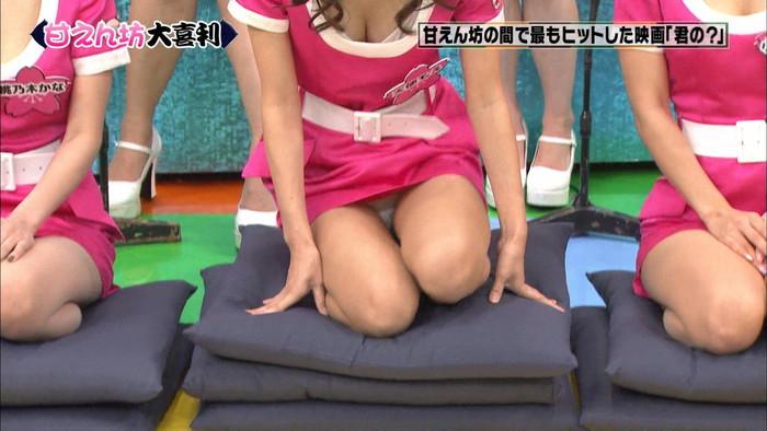 【放送事故エロ画像】予期せぬハプニング!?放送事故と呼ばれるエロ画像 13