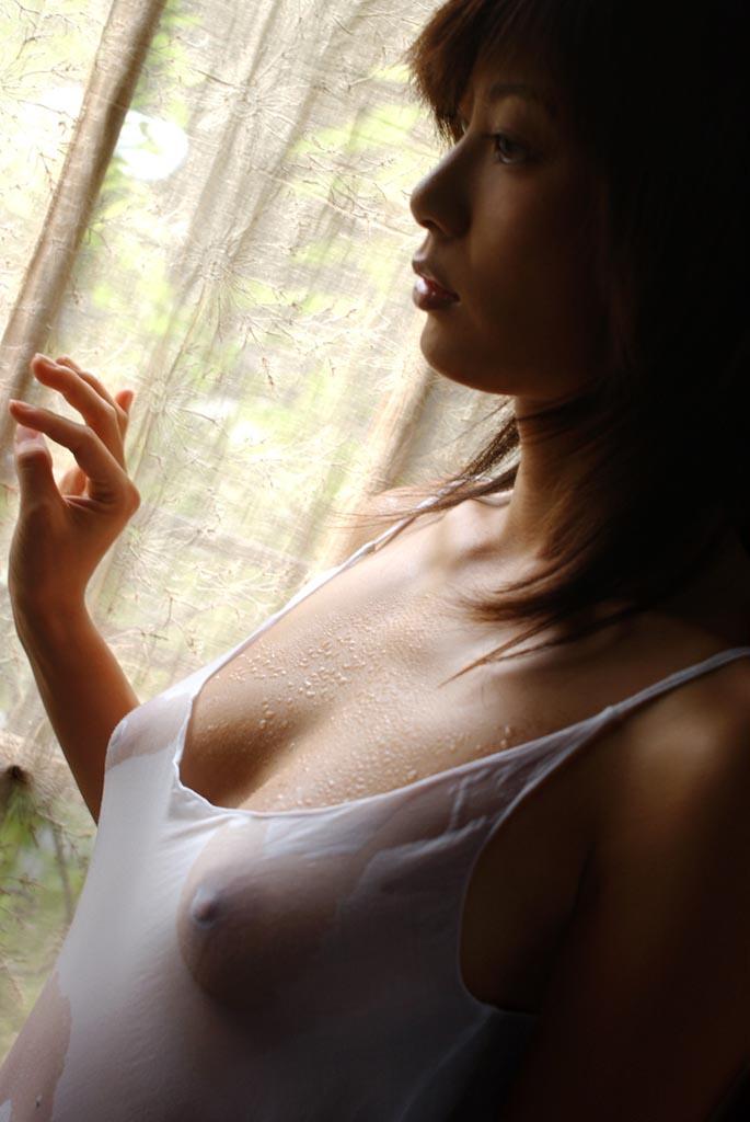 【濡れ透けエロ画像】おまいら!濡れて透けた着衣はこんなにエロいぞ!?www 11