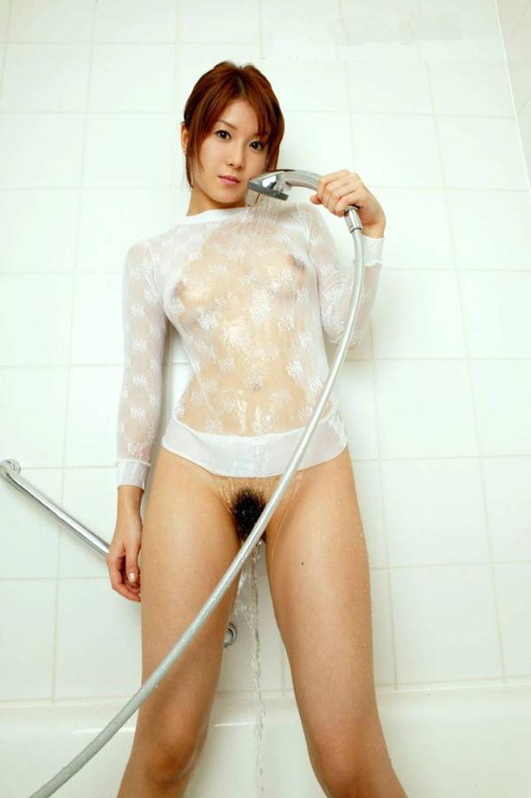 【濡れ透けエロ画像】おまいら!濡れて透けた着衣はこんなにエロいぞ!?www 12