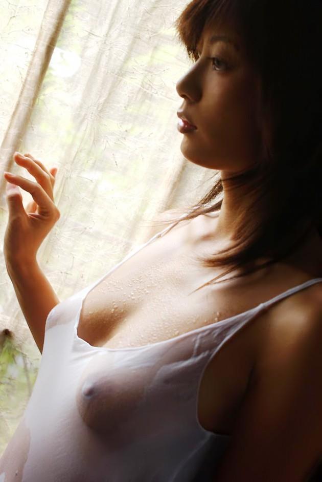 【濡れ透けエロ画像】おまいら!濡れて透けた着衣はこんなにエロいぞ!?www 27