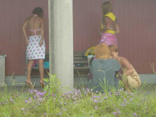 【着替え盗撮】生着替え中を盗撮されてしまった素人娘たちの画像集めたったw 01