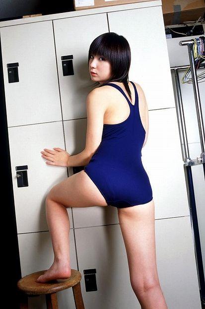 【スク水エロ画像】マニアックだけどなぜか抜けるスク水の女の子!www 02