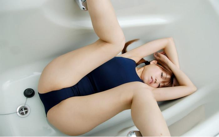 【スク水エロ画像】マニアックだけどなぜか抜けるスク水の女の子!www 19