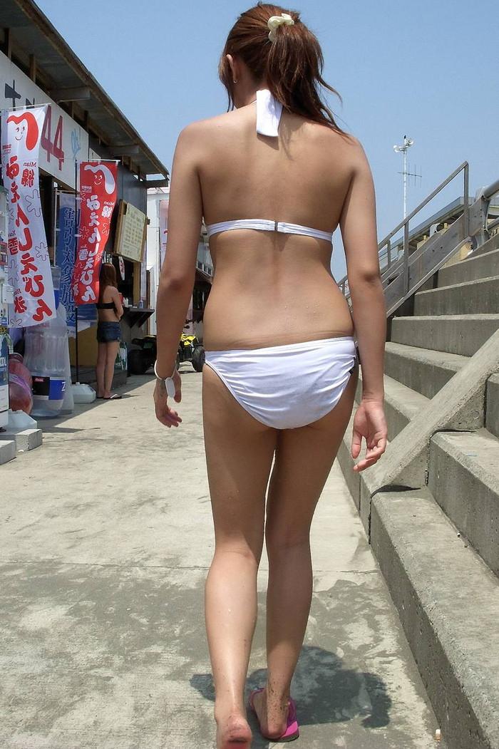 【素人水着エロ画像】素人娘たちの生々しい水着姿に勃起不可避!www 02