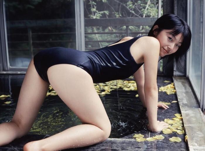 【スク水エロ画像】マニアにはたまらないスク水姿の女の子集めたった!www 13