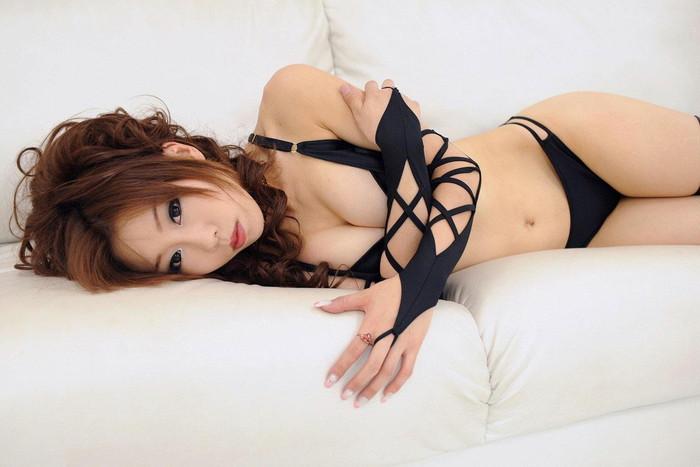 【セクシーランジェリーエロ画像】セクシーさに重点を置いた女性下着、さすがだなw 15