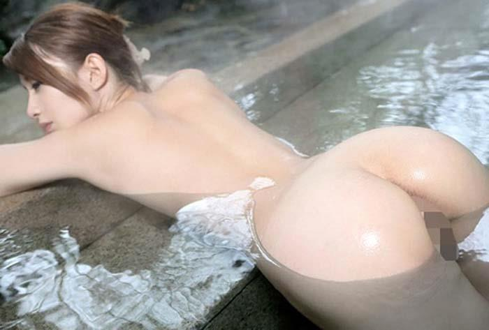 【入浴エロ画像】男子が立ち入ることを許されない女風呂!一度は覗いてみたいw