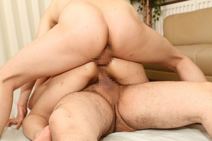 【2穴セックスエロ画像】お尻とオマンコ両方の2穴でセックスしちゃう女子エロすぎ! 25