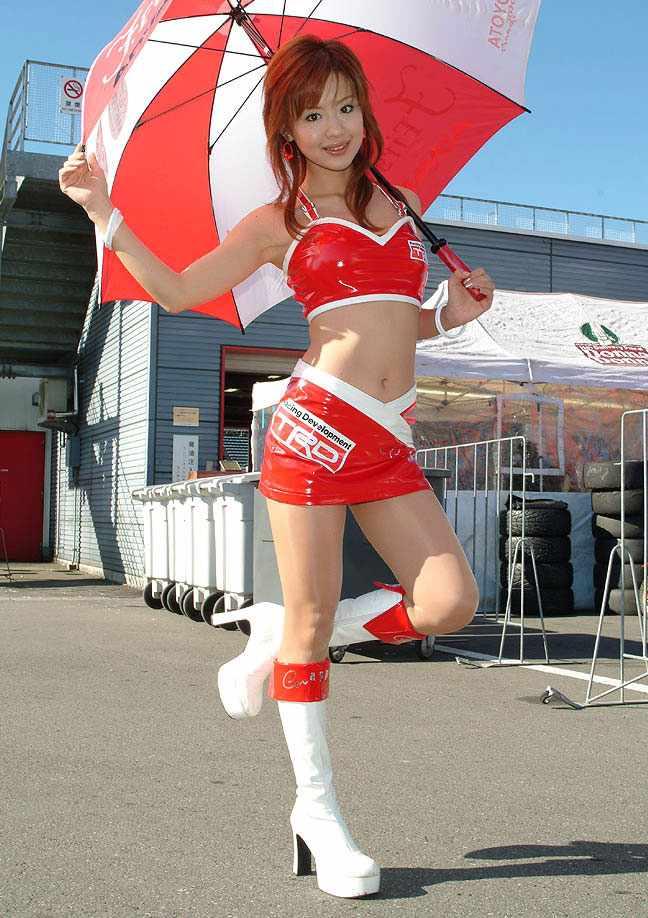 【レースクンーンエロ画像】モータースポーツ、モーターショーでお馴染みの露出過多のRQ! 19