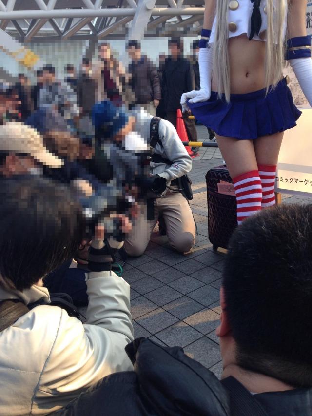【コミケエロ画像】コミックマーケットで見つけた過激衣装の素人コスプレイヤー! 27