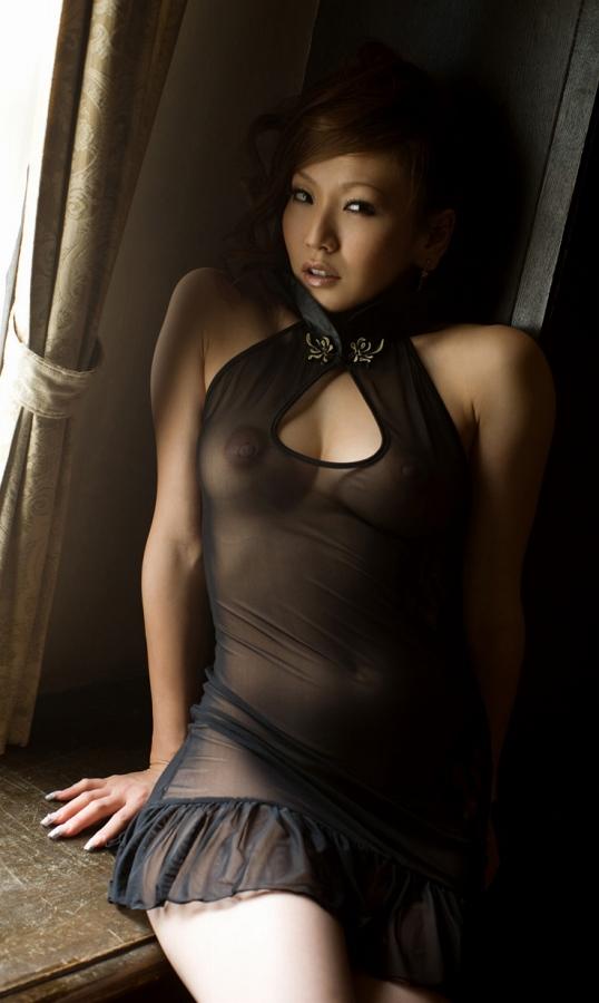 【シースルーエロ画像】シースルの着衣!これじゃ全裸でも変わらんと思うんだがw 23
