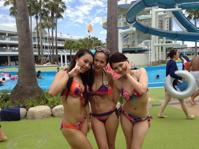 【素人水着エロ画像】まもなく夏本番!?待ち遠しすぎる素人娘たちの水着姿! 13
