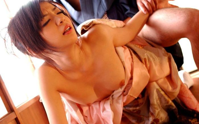 【和服エロ画像】和服姿でエロい女の子集めたったwこの妖艶なエロス堪らんなww 02