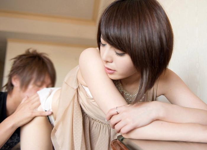【クンニリングスエロ画像】メスの香り漂うオマンコをペロペロ愛撫!クンニ画像! 12