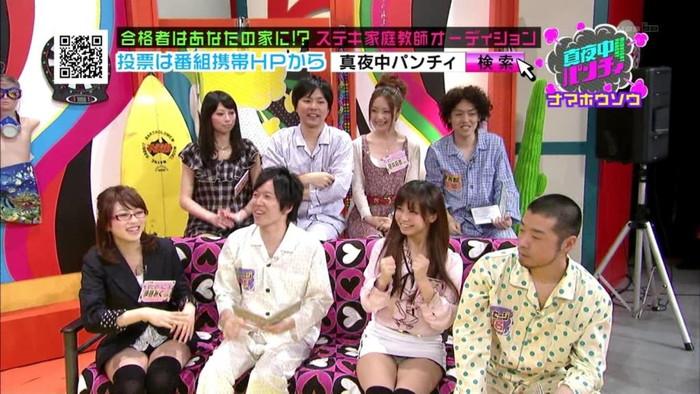 【放送事故エロ画像】これはガチ!?電波にのってしったエロい放送事故! 12
