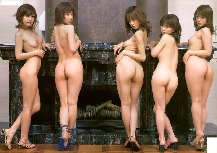 【複数人ヌードエロ画像】複数人の女の子たちがヌードな画像集めたったwwww 05