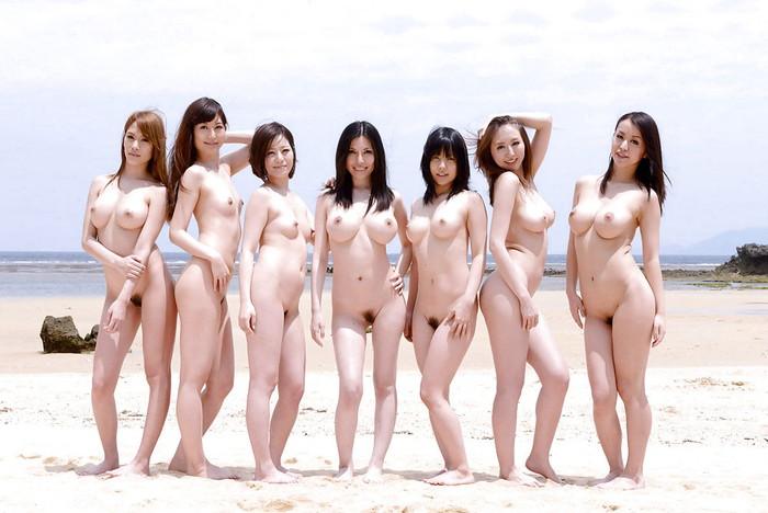 【複数人ヌードエロ画像】複数人の女の子たちがヌードな画像集めたったwwww 11