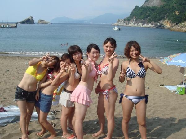 【素人水着エロ画像】素人娘たちの水着姿が眩し過ぎてフル勃起してしまうんだがww 10