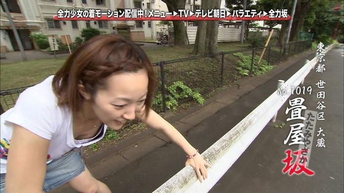 【放送事故エロ画像】テレビに映ったエロハプニング!これはラッキー!www 07