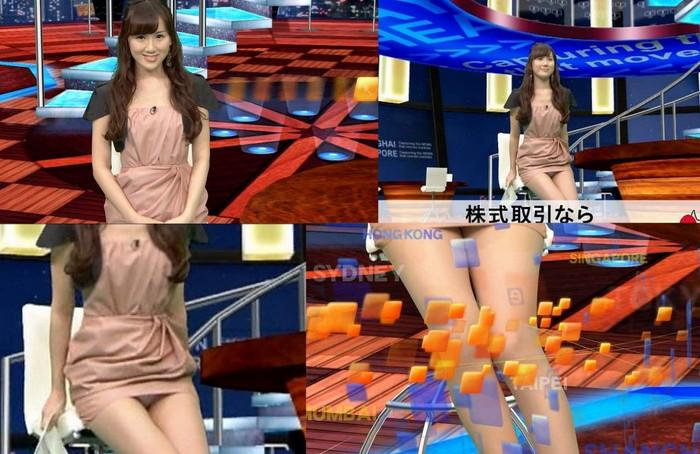 【放送事故エロ画像】テレビに映ったエロハプニング!これはラッキー!www 14