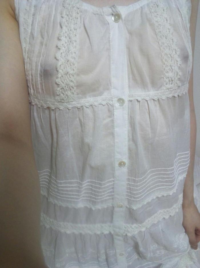 【胸ポチエロ画像】これはノーブラ確定!つていう胸ポチしている女の子! 22