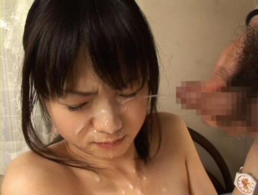 【顔射エロ画像】女の子の可愛い顔をザーメンで汚したい願望あるやつ!ちょっと来い! 14