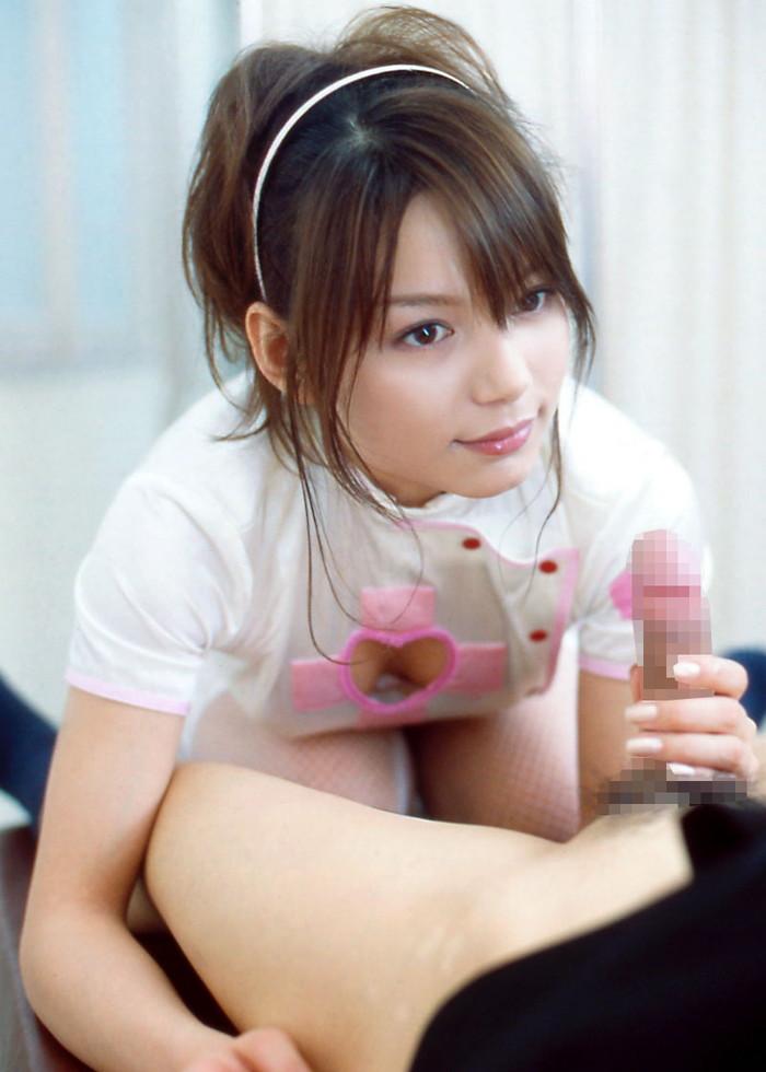 【手コキエロ画像】女の子の手で快楽へと導いてもらう手コキ画像がシコッ! 01