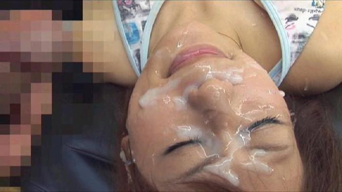 【顔射エロ画像】可愛い女の子の顔を濃厚なザーメンで汚した結果www 13
