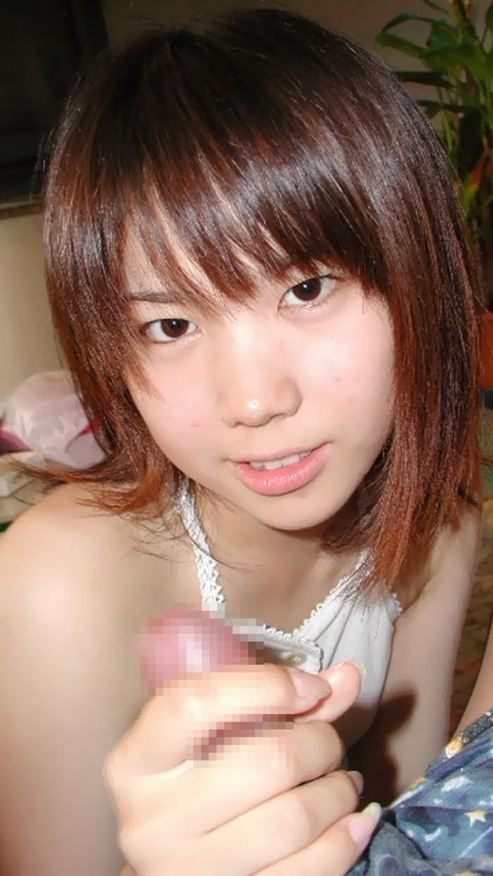 【手コキエロ画像】女の子のか細い手で快楽へと導かれる手コキ!wwwww 10
