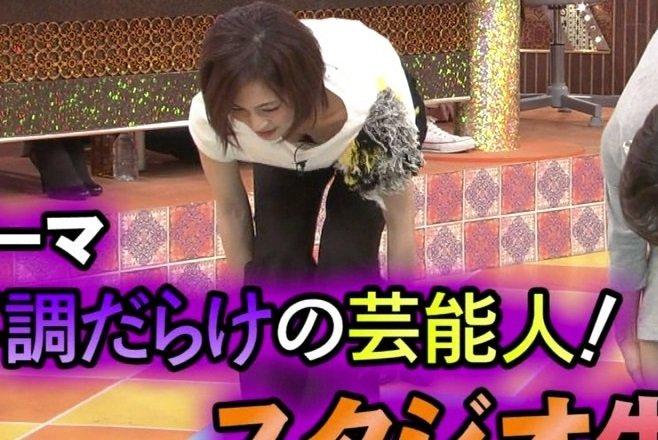【放送事故エロ画像】テレビの番組内で起こったエロハプニングがこちらwww 08