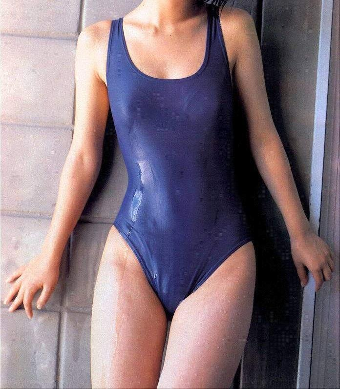 【スク水エロ画像】こういうマニアックな水着が大好き!ってやつも多いんじゃないか? 27
