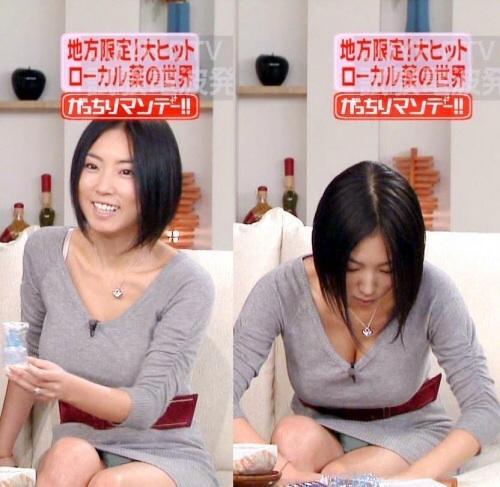 【放送事故エロ画像】偶然か必然か!?テレビでおこったエロハプニング! 03