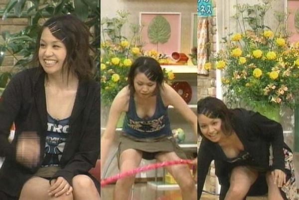 【放送事故エロ画像】偶然か必然か!?テレビでおこったエロハプニング! 10