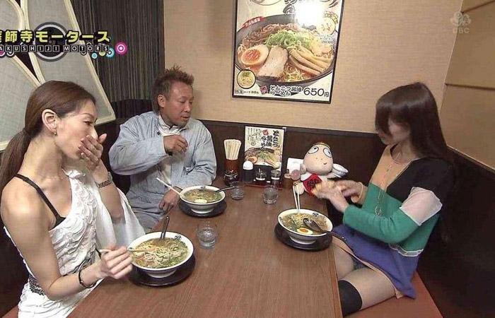 【放送事故エロ画像】偶然か必然か!?テレビでおこったエロハプニング! 11