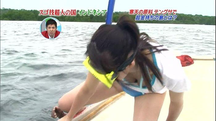 【放送事故エロ画像】偶然か必然か!?テレビでおこったエロハプニング! 25
