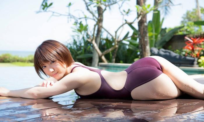 【競泳水着エロ画像】競泳水着とかいうくっそエロい水着の女の子の画像集めたったww