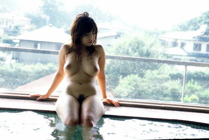 【入浴エロ画像】お風呂といえば、どんなに可愛い子でも全裸が基本だろ!? 02