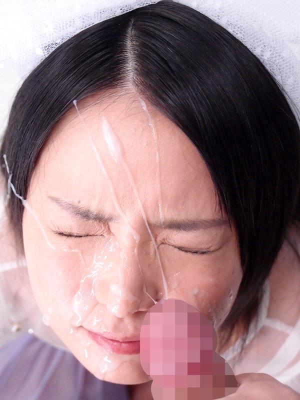 【顔射エロ画像】顔面ザーメンまみれの顔射の餌食にされた女の子たちwww 07