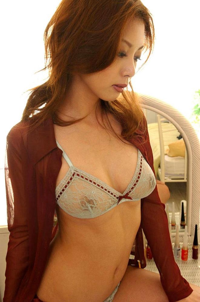 【透け下着エロ画像】セクシーという意味でこれ以上に利にかなった下着ってある? 26