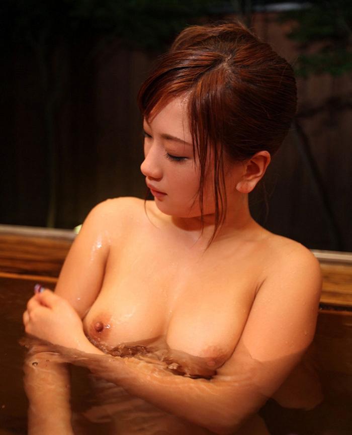 【入浴エロ画像】女の子がお風呂に入ってる様子をじっくり見てみようずww 19