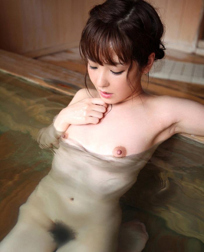【入浴エロ画像】女の子がお風呂に入ってる様子をじっくり見てみようずww 25