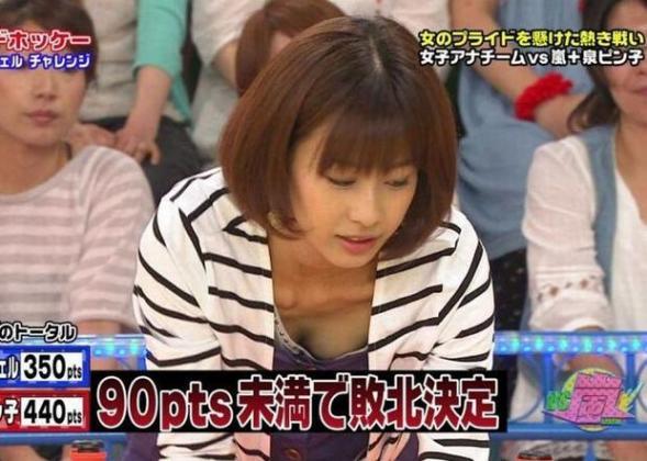 【放送事故エロ画像】これは本当に事故!?それともテレビマンの策略か!?w 17