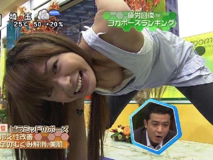 【放送事故エロ画像】これは本当に事故!?それともテレビマンの策略か!?w 19